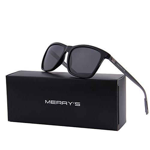 2563946e3ee MERRY S Unisex Polarized Aluminum Sunglasses Vintage Sun Glasses For ...